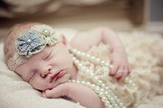 newborns in pearls - Google Search