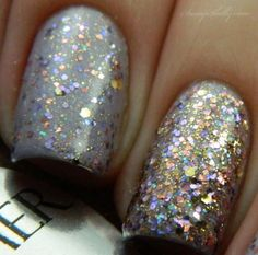 Sassy Shelly: Nails and Attitude: Shimmer Polish Swatch Spam