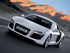...I absolutely love Audi's R-8, and R-10 supercars!...