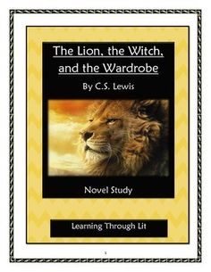 The Lion, the Witch & the Wardrobe Study Guide Course ...