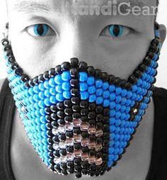 Mortal Kombat Sub Zero Kandi Mask - English