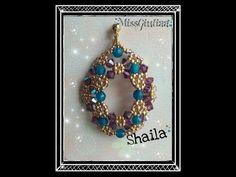 DIY Tutoria Orecchini Shaila - YouTube Earring Tutorial, Diy Tutorial, Jewelry Patterns, Beading Patterns, Crystal Jewelry, Beaded Jewelry, Diy Barefoot Sandals, Beading Tutorials, Bead Earrings