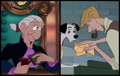 Ben Wright's final film. When he got the part of Grimsby, Prince Eric's butler, the erstwhile Disney folks had no idea that he had been the voice of Roger in One Hundred and One Dalmatians (1961). He had to tell them.