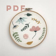 Introducing the newest pattern to the Thread Folk range - Floral Stitch Sampler! This Floral Stitch Sampler is a great beginners project that will allow you to practice a handful of basic embroidery stitches that are so versatile and fun to do! Included in the download: - Stitch Guide -