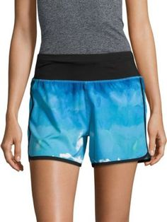 ANDREW MARC Printed Pull-On Shorts. #andrewmarc #cloth #shorts
