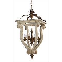 The Abbey Chandelier-The Abbey chandelier is an updated spin. Pure Bliss with our hand made pendant light. on the traditional lantern-style chandelier. Country Chandelier, Lantern Chandelier, Candelabra Bulbs, Chandelier Lighting, Lantern Light Fixture, Traditional Lanterns, Foyer Decorating, Farmhouse Lighting, Wood And Metal