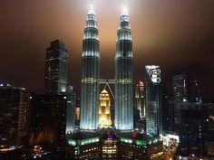 One day in Kuala Lumpur, Malaysia