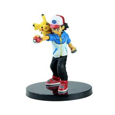 Ash Ketchum and Pikachu - 14 CM Action Figure – One Geek