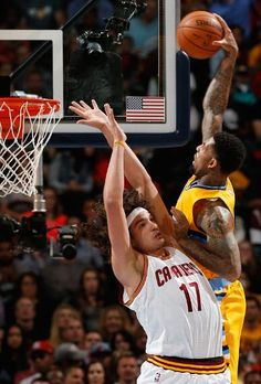 Wilson Chandler   Kenneth Faried threw down some nasty dunks on the Cavs 2d35b560c