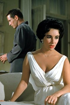 Elizabeth Taylor and Paul Newman in 'Cat on a Hot Tin Roof', 1958.