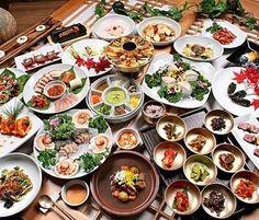 Comida tradicional de Korea del Sur