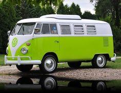 1967 Volkswagen Westfalia Camper Bus I. Light pink instead of green Volkswagen Transporter, Volkswagen Westfalia Campers, Vw T1, Vw Camper, Moto Collection, Combi T1, Cute Vans, Kombi Home, Muscle Cars For Sale