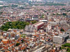 Luchtfoto Antwerpen Vlaanderen