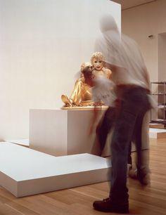 "Louise Lawler, Michael Jackson, dye construction, ""Not Yet Titled"", exhibition at ""Museum Ludwig"", Cologne, 2014  http://www.museum-ludwig.de/de/ausstellungen/louise-lawler.html"