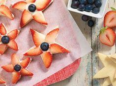 King Arthur Flour Berry Star Cookies