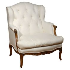 1stdibs.com | 19th Century French WingBacked Arm Chair