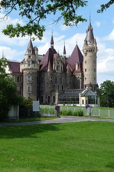 Castle Moszna in Poland