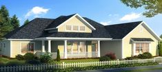 Good-Looking Southern Ranch House Plan - 52270WM thumb - 01