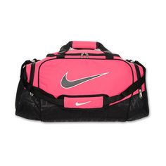 Nike Brazilia 5 Medium Duffle Bag ($35) ❤ liked on Polyvore