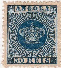 Stamp: Crown (Angola) (Crown) Mi:AO 14,Sn:AO 15,Yt:AO 14,Afi:AO 14