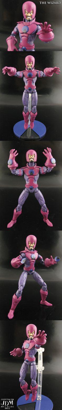 Custom Marvel Legends Wizard by Jin-Saotome.deviantart.com on @DeviantArt