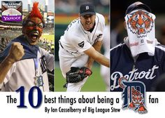 10 Best Things about being a Detroit Tigers fan! Detroit Sports, Detroit Tigers Baseball, Detroit Michigan, Detroit Lions, Tiger Girl, Tiger Love, Baseball League, Baseball Bats, Old English D