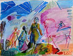 "F A N T A S Y.  Jose Manuel Merello.- ""Fantasy.""  MODERN ART. http://www.merello.com"