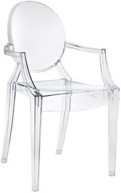 Kartell Chair, Contemporary Chair, Louis Ghost
