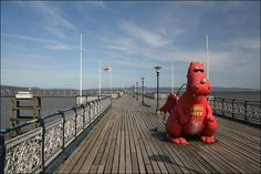 Mumbles Pier by JonCombe, via Flickr