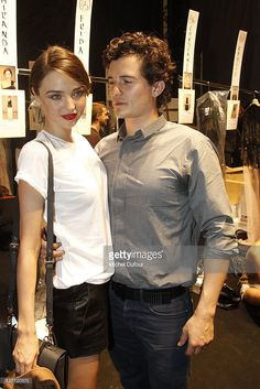 Orlando Bloom and Miranda Kerr attend the Christian Dior Ready to... News Photo | Getty Images