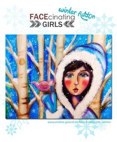 FACEcinating Girls Winter AddOn - Online Class by Andrea Gomoll - www.andrea-gomoll.de/facecinatinggirls_winter/