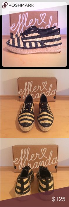 Loeffler Randall Alfie Espadrille EUC- practically brand new!! Adorable perfect summer shoe!! Loeffler Randall Shoes