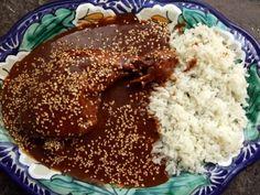 Mole Poblano de Guajolote (Turkey in Chocolate Chile Sauce) - Powered by @ultimaterecipe