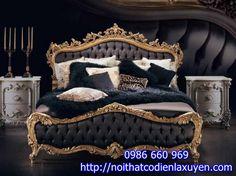 Giường ngủ cổ điển, mẫu giường ngủ cổ điển đẹp nhất Nội thất cổ điển la xuyên, phòng ngủ cổ điển