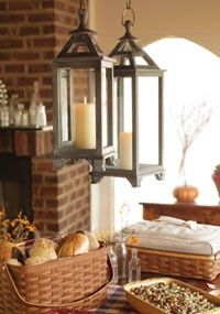 Fall decorating with Longaberger