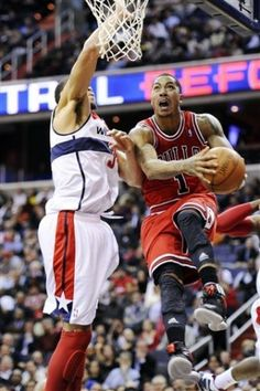 FULL GAME in HD! Chicago Bulls vs. Washington Wizards (Derrick Rose vs. John Wall)