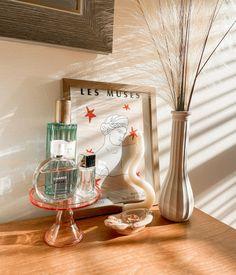 Funky Decor, Pink Home Decor, Jewelry Dish, Candlesticks, Terracotta, Danish, Sunrise, Dresser, Pastel