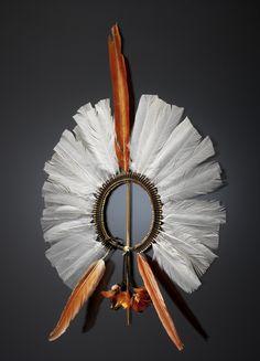 Culture/People:  Mebêngôkre (Kayapó/Cayapo) Object name:  Headdress Native term:  àkkàpa-ri Date created:  1915-1925 Place:  Pará State, North Region; Brazil '