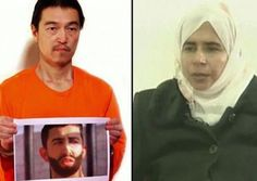 """1-30-15 Jordan announced its willingness to release an imprisoned jihadist female terrorist, Sada al-Rishawi, to ISIS in exchange for the release of a Jordanian pilot, 1st Lt. Muath al-Kasaesbeh, whom ISIS captured in Syria. """"Jordan confirms that it is completely prepared to release the prisoner Sajida al Rishawi if Moaz al Kasasbeh is released and his life is intact,"""" said the Foreign Ministry statement. """"The priority of Jordan from the start of the crisis was to insure"""