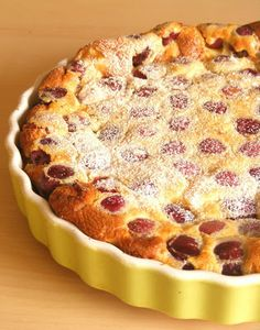 .: Clafoutis - cseresznyével, meggyel, barackkal, szi... My Recipes, Cake Recipes, Cakes And More, Quiche, Biscuits, Food And Drink, Cookies, Breakfast, Sweet