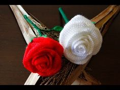Tutorial: how to crochet a rose | in English - YouTube