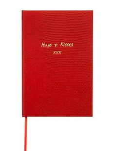 HUGS AND KISSES - POCKET NOTEBOOK £14.50   Sweet memories, perfect days, thoughtful notes, simple ideas. Making the world a slightly better place, just because you can.