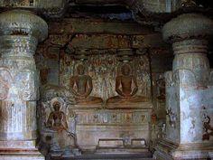 Ajanta-barlangok New Travel, Hinduism, Buddhism, India, Caves, Statues, Painting, Home Decor, Art