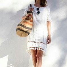 Muito amor por esse vestido de verão!
