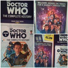 #DoctorWho #DrWho #TheCompleteHistory #Panini #DefinitiveGuide #Issue1 #WilliamHartnell #PatrickTroughton #JonPertwee #TomBaker #PeterDavison #ColinBaker #SylvesterMcCoy #PaulMcGann #ChristopherEccleston #DavidTennant #MattSmith #PeterCapaldi #TARDIS #AJourneyThroughTime #Gridlock #DaleksInManhattan #EvolutionOfTheDaleks #TheLazarusExperiment #42