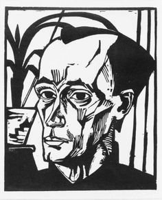 View BILDNIS E. (DUBE 306 A) By Erich Heckel; 365 by 295 mm 14 by 11 in; Access more artwork lots and estimated & realized auction prices on MutualArt. Dresden, Expressionist Portraits, Karl Schmidt Rottluff, George Grosz, Degenerate Art, Edvard Munch, Wassily Kandinsky, Linocut Prints, Artist Art