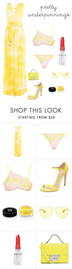 """""""Summer"""" by kotnourka ❤ liked on Polyvore featuring Roberto Cavalli, Agent Provocateur, Casadei, Givenchy, Michael Kors, Rodin and Jimmy Choo"""