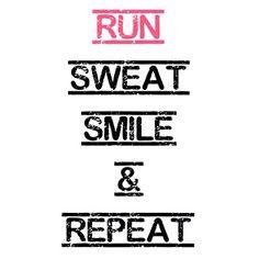 Running makes people happier :)