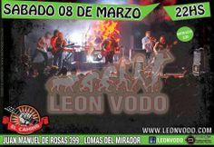 HOY 08/03 | 22:00 hs. * Leon Vodo En El Camino Bar (Av. J.M de Rosas 399) Lomas del Mirador (BSAS) Entrá en el Blog de CGCWebRadio y enterate de todo!!! Twitter Seguinos en: @CGCWebRadio Argentina (https://twitter.com/CGCWebRadio) Facebook Hacete Fan en: https://www.facebook.com/CGCWebRadio/