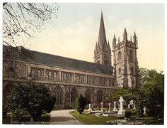 Llandaff Cathedral c1890